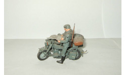 Мотоцикл БМВ BMW с коляской + 2 фигурки Великая Отечественная война 1941 Звезда Italeri 1:35, масштабная модель, Italieri, scale35
