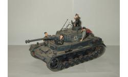 Танк Средний Panzerkampfwagen IV Германия + 5 фигурок Великая Отечественная война 1941 Звезда Italeri 1:35, масштабная модель, 1/35, Italieri
