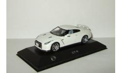 Ниссан Nissan Skyline GTR 2008 Белый Kyosho 1:43, масштабная модель, scale43