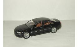 лимузин Ауди Audi A8 D3 2002 Черный Minichamps 1:43, масштабная модель, 1/43