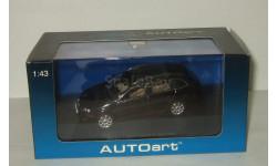 Фольксваген VW Volkswagen Golf V Variant Черный Autoart 1:43 59702, масштабная модель, 1/43