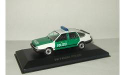 Фольксваген VW Volkswagen Passat 1 Polizei Whitebox 1:43, масштабная модель, 1/43