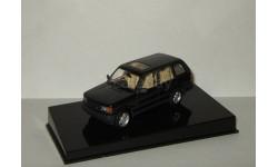 Range Rover 1994 4x4 Черный AutoArt 1:43, масштабная модель, Land Rover, scale43