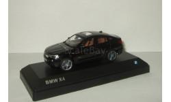 БМВ BMW X4 4x4 Черный Paragon Models 1:43, масштабная модель, 1/43