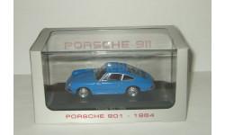 Порше Porsche 901 (911) 1964 Синий PremiumX Atlas 1:43