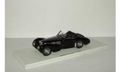 Бугатти Bugatti 57 S Gangloff 1937 Черный Spark 1:43 S2701, масштабная модель, scale43