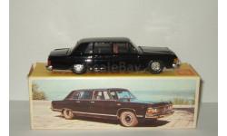 лимузин Газ 14 Чайка сделано в СССР (завод Газ, г. Горький) Черное дно Родная коробка 1:43