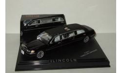 лимузин Линкольн Lincoln Town Car Limousine 2000 Черный Vitesse 1:43 36311, масштабная модель, 1/43
