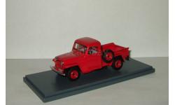 Джип Jeep Willys Пикап 4x4 1954 Красный Neo 1:43 NEO44642, масштабная модель, 1/43, Neo Scale Models