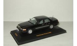 Форд Ford Crown Victoria 2000 Черный IXO 1:43, масштабная модель, 1/43, IXO Road (серии MOC, CLC)