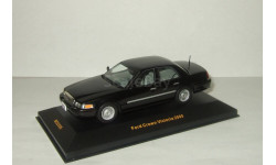 Форд Ford Crown Victoria 2000 Черный IXO 1:43