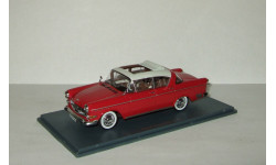 Опель Opel Kapitan P1 2.5L Limousine Red/Grey 1958 Neo 1:43 NEO43942, масштабная модель, Neo Scale Models, scale43