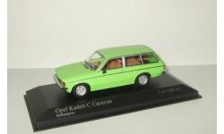 Опель Opel Kadett C Caravan 1978 Minichamps 1:43 400048110, масштабная модель, 1/43