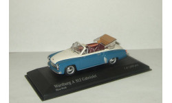 Вартбург Wartburg A312 Cabriolet 1958 Minichamps 1:43