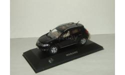 Ниссан Nissan Murano Черный J-Collection 1:43, масштабная модель, 1/43