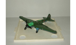 самолет Ил 2 Штурмовик 1941 Великая Отечественная война Металл Сделано в СССР 1:72, масштабные модели авиации, Ильюшин, scale72
