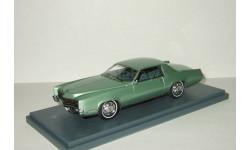 Кадиллак Cadillac Eldorado 2 door Coupe Metallic Green 1967 Neo 1:43 NEO 44105, масштабная модель, Neo Scale Models, scale43