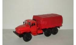 Урал 4320 6х6 Красный с тентом 1979 СССР Элекон 1:43, масштабная модель, scale43