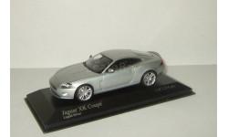 Ягуар Jaguar XK Coupe 2005 Серебристый Minichamps 1:43, масштабная модель, 1/43