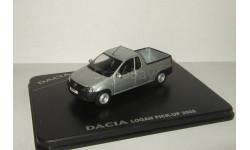 Рено Renault Dacia Logan Pick-Up Пикап 2008 Eligor Norev 1:43, масштабная модель, 1/43