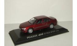 Пежо Peugeot 406 Berline Norev 1:43 474603, масштабная модель, 1/43