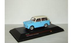 Трабант Trabant P50 Kombi 1959 Blue & Beige IST 1:43 IST046, масштабная модель, IST Models, scale43