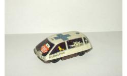игрушка Машинка Раф 2203 Ветеринарная Жесть Сделано в СССР 1:43, масштабная модель, 1/43