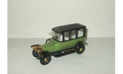 Руссо Балт С24 40 Лимузин Берлин 1913 Зеленый постномерная сделано в СССР Агат Тантал Радон 1:43