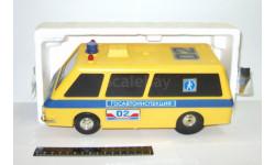 игрушка Раф 2203 ГАИ 02 Госавтоинспекция СССР НПО Автоматики 1:18 Редкий желтый вариант, масштабная модель, scale18