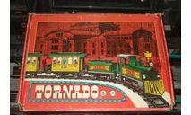набор Железная дорога Рельсы Паровоз 3 Вагона Торнадо Tornado 1985 г Сделано в ГДР 1:32 100 % Оригинал, масштабная модель, 1/32