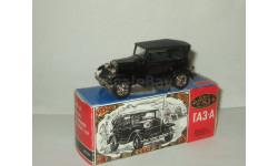 Газ А 1932 Черный сделано в СССР Агат Тантал Радон 1:43 Ранний выпуск, масштабная модель, 1/43, Агат/Моссар/Тантал