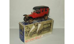 Руссо Балт Лимузин С24 40 Лимузин 1913 постномерная сделано в СССР Агат Тантал Радон 1:43