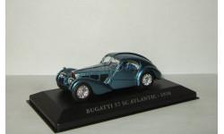 Бугатти Bugatti 57 SC Atlantic 1938 Altaya 1:43, масштабная модель, 1/43