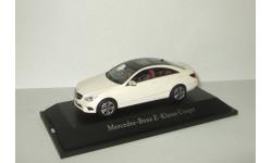 Мерседес Бенц Mercedes Benz E class Coupe W212 Рестайлинг Kyosho 1:43, масштабная модель, 1/43, Mercedes-Benz