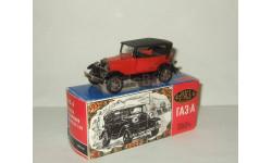Газ А 1932 Крылья металл Красный постномерная сделано в СССР Агат Тантал Радон 1:43, масштабная модель, 1/43, Агат/Моссар/Тантал