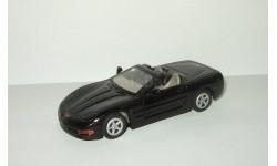Шевроле Chevrolet Corvette 1998 Черный 1:43, масштабная модель, scale43