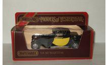 Бугатти Bugatti T44 1927 Y-24 Models of Yesterday Matchbox 1:43, масштабная модель, 1/43