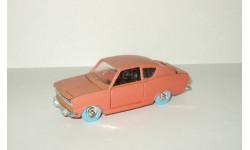 Опель Opel Kadett Светло Коричневый Ремейк сделано в СССР 1:43, масштабная модель, 1/43