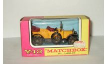 Daimler 1911 Y13 Models of Yesterday Matchbox 1:43, масштабная модель, 1/43