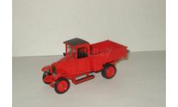 Амо Ф15 1927 Красный Металл сделано в СССР Рославль 1:43, масштабная модель, 1/43
