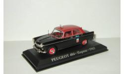 Пежо Peugeot 404 Такси Париж 1962 IXO Altaya 1:43, масштабная модель, 1/43