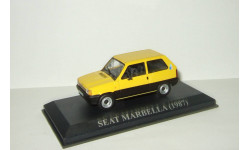 Сеат Seat Marbella 1987 IXO Altaya 1:43, масштабная модель, 1/43