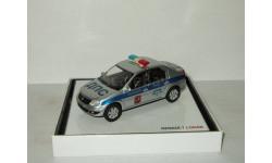 Рено Renault Logan Полиция Москва Eligor 1:43, масштабная модель, scale43