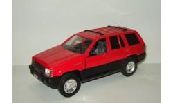 Джип Jeep Grand Cherokee 4x4 1994 Majorette 1:24, масштабная модель, scale24