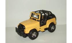 Джип Jeep CJ Wrangler 4x4 1977 New Ray 1:24, масштабная модель, 1/24