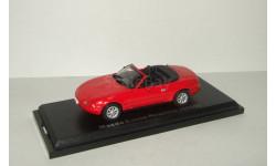 Мазда Mazda Eunos Roadster 1989 Aoshima / Ebbro 1:43, масштабная модель, 1/43