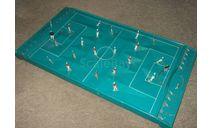 Игрушка Игра Настольная Футбол металл СССР Винтаж Длина 55 см, масштабная модель, scale43