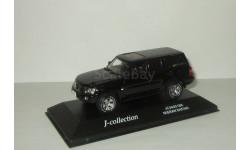 Ниссан Nissan Safari Patrol 4х4 4WD 2005 Черный J-Collection J-Collection 1:43 JC34001BK