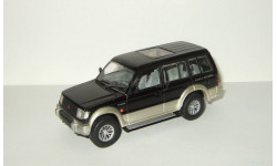 Мицубиси Mitsubishi Pajero LWB 1994 4x4 Черный Minichamps 1:43, масштабная модель, scale43