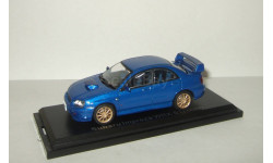 Субару Subaru Impreza WRX Sti 2004 Aoshima / Ebbro 1:43, масштабная модель, 1/43